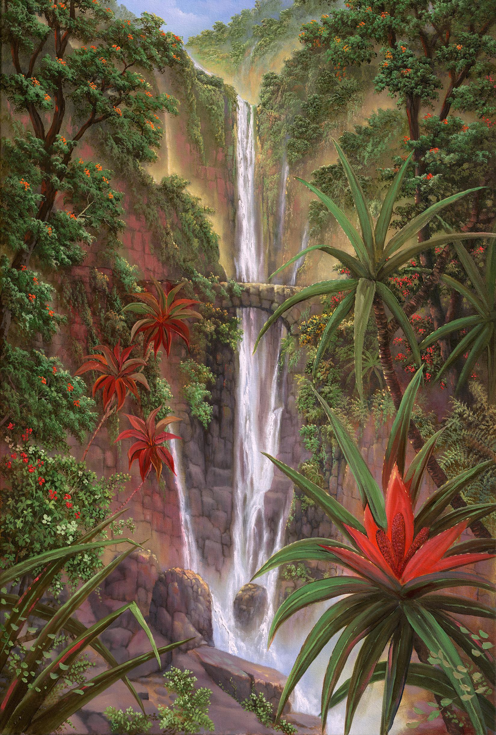 """""""Pololu Falls"""" 24x36"""