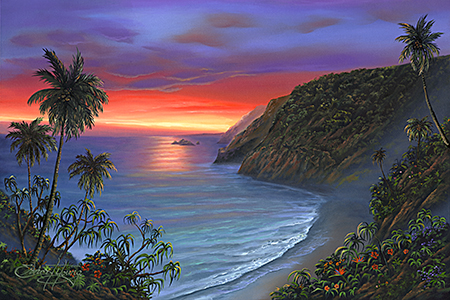 """Pololu Sunrise"" 24x36"