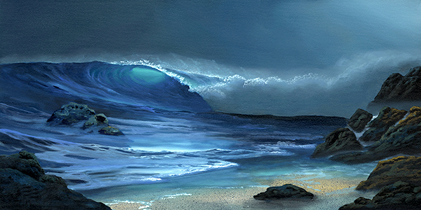 """The Eye Of The Wave"" 15x30"