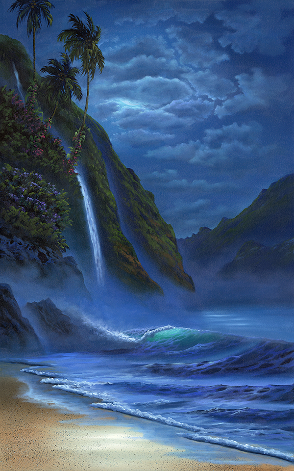 """""""Evening In Paradise"""" 20x32"""
