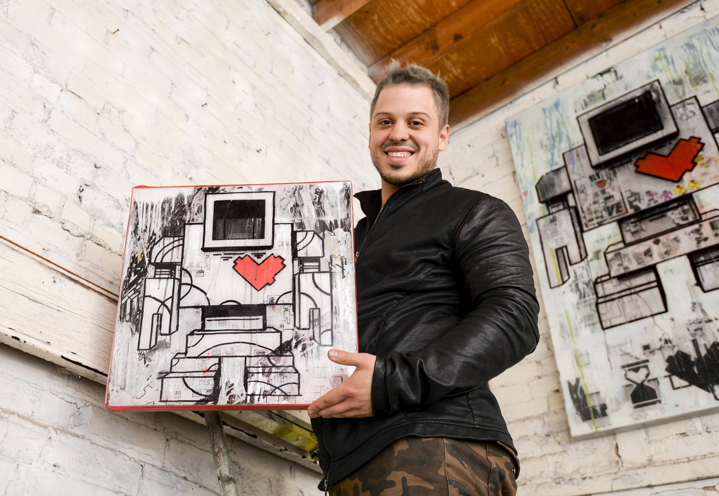 Lovebot Creator Matthew Del Degan