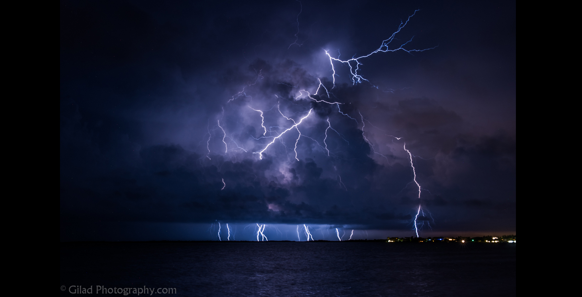 Lightning Storm at the Florida Keys