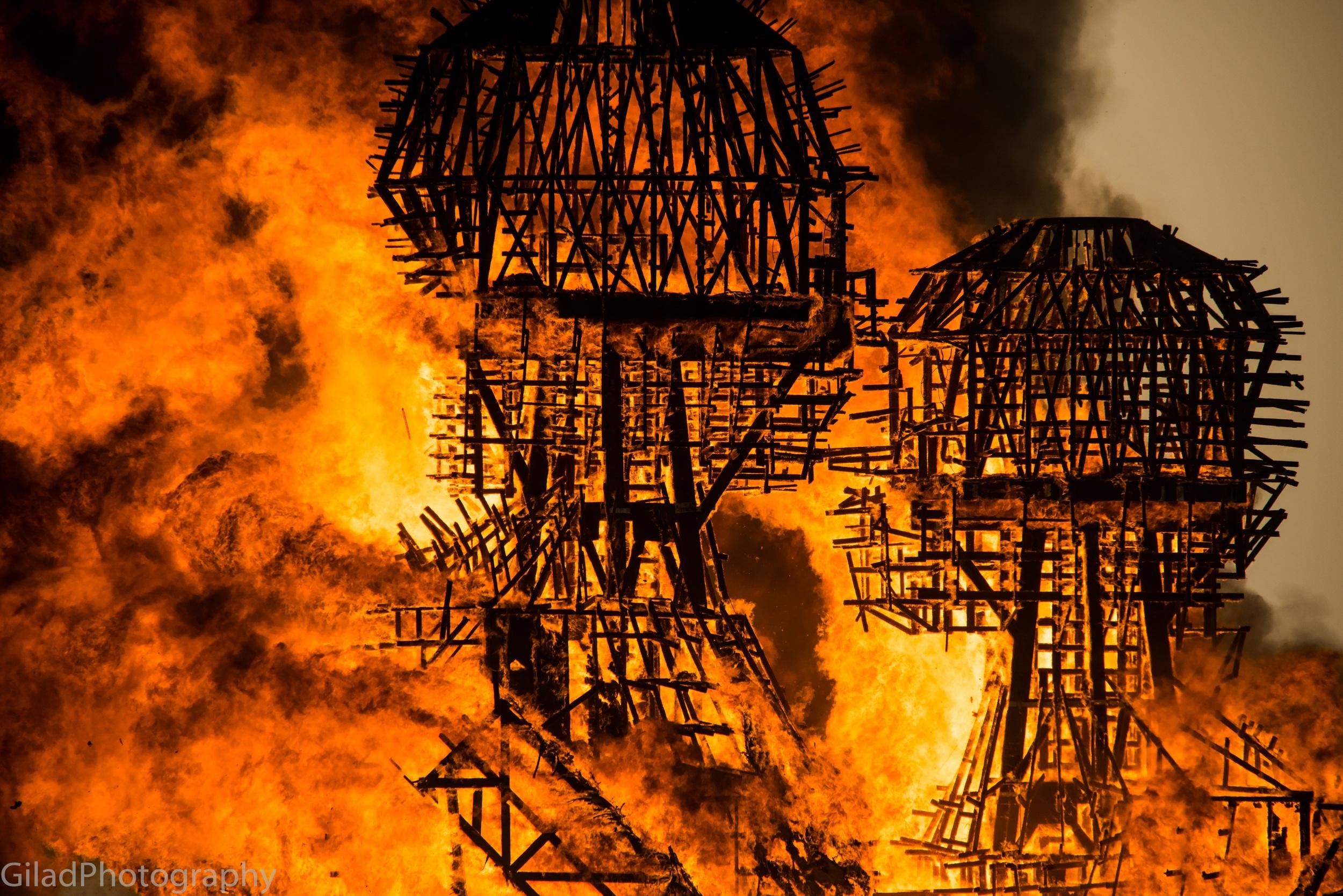 The Embrace burn 2014