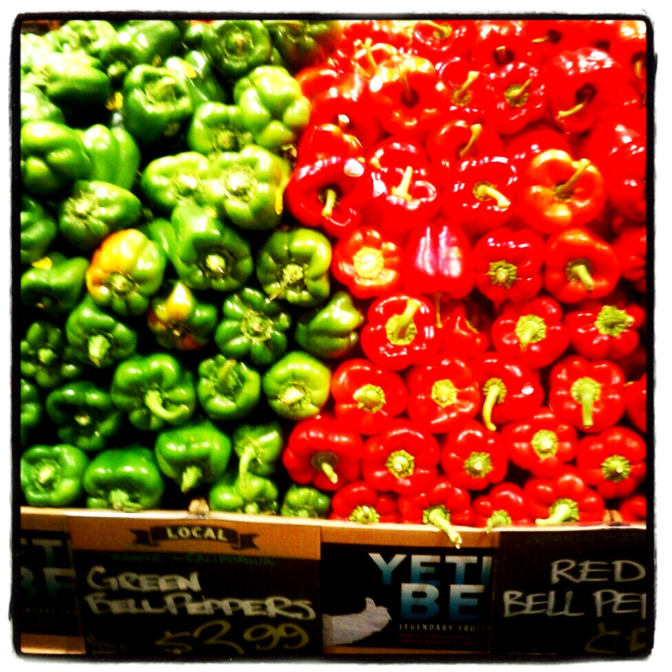 Green & Red Bell Peppers