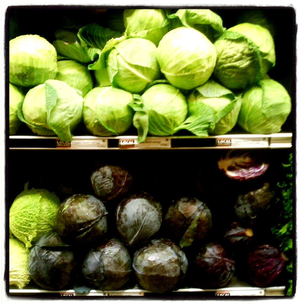 Green & Red Cabbage