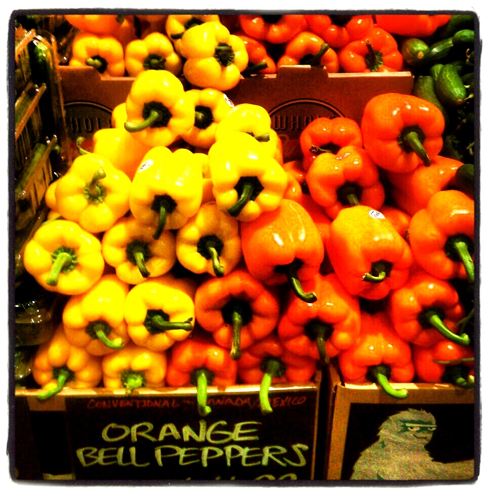 Yellow & Orange Bell Peppers