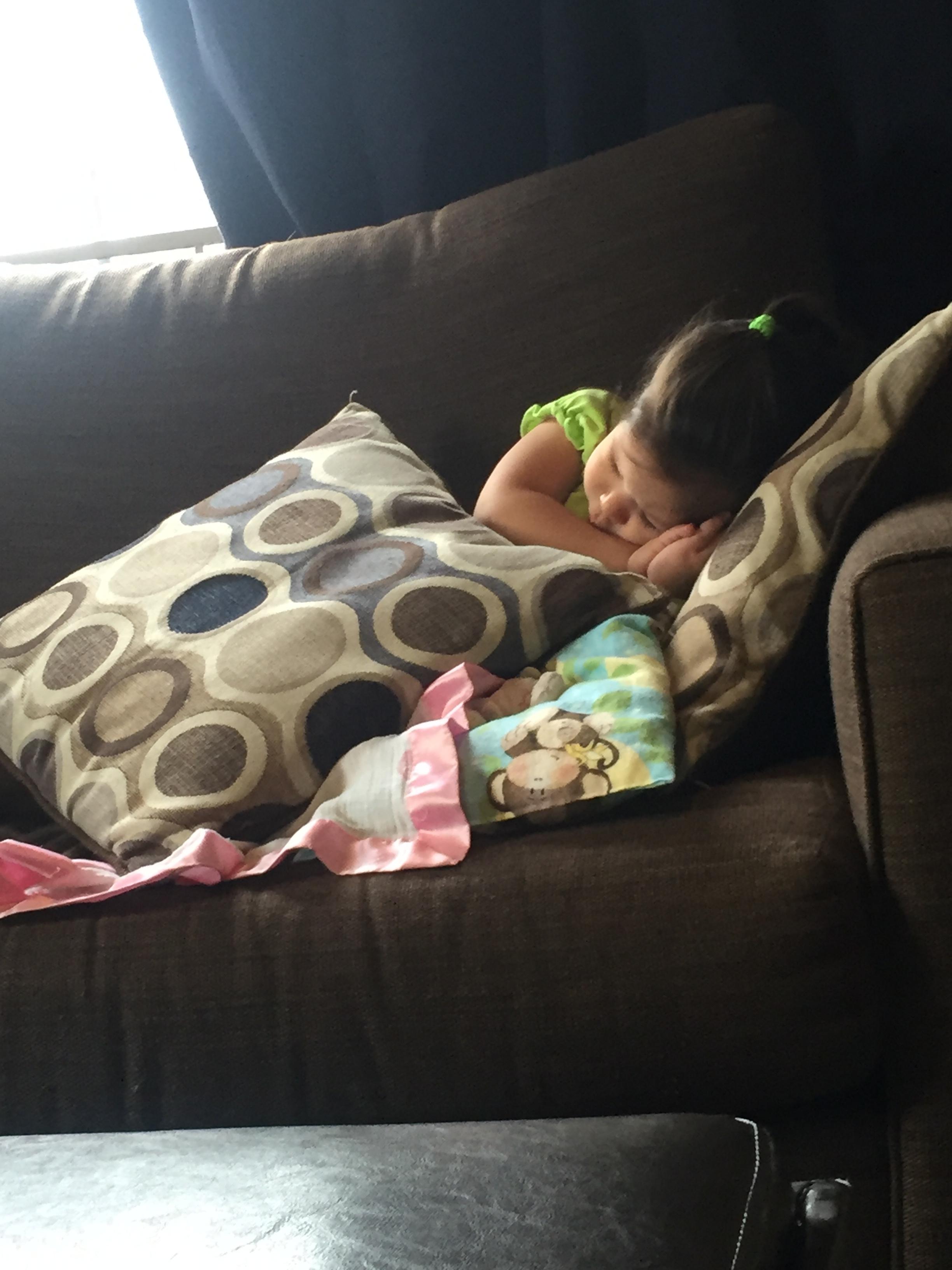 Always pretend sleeping