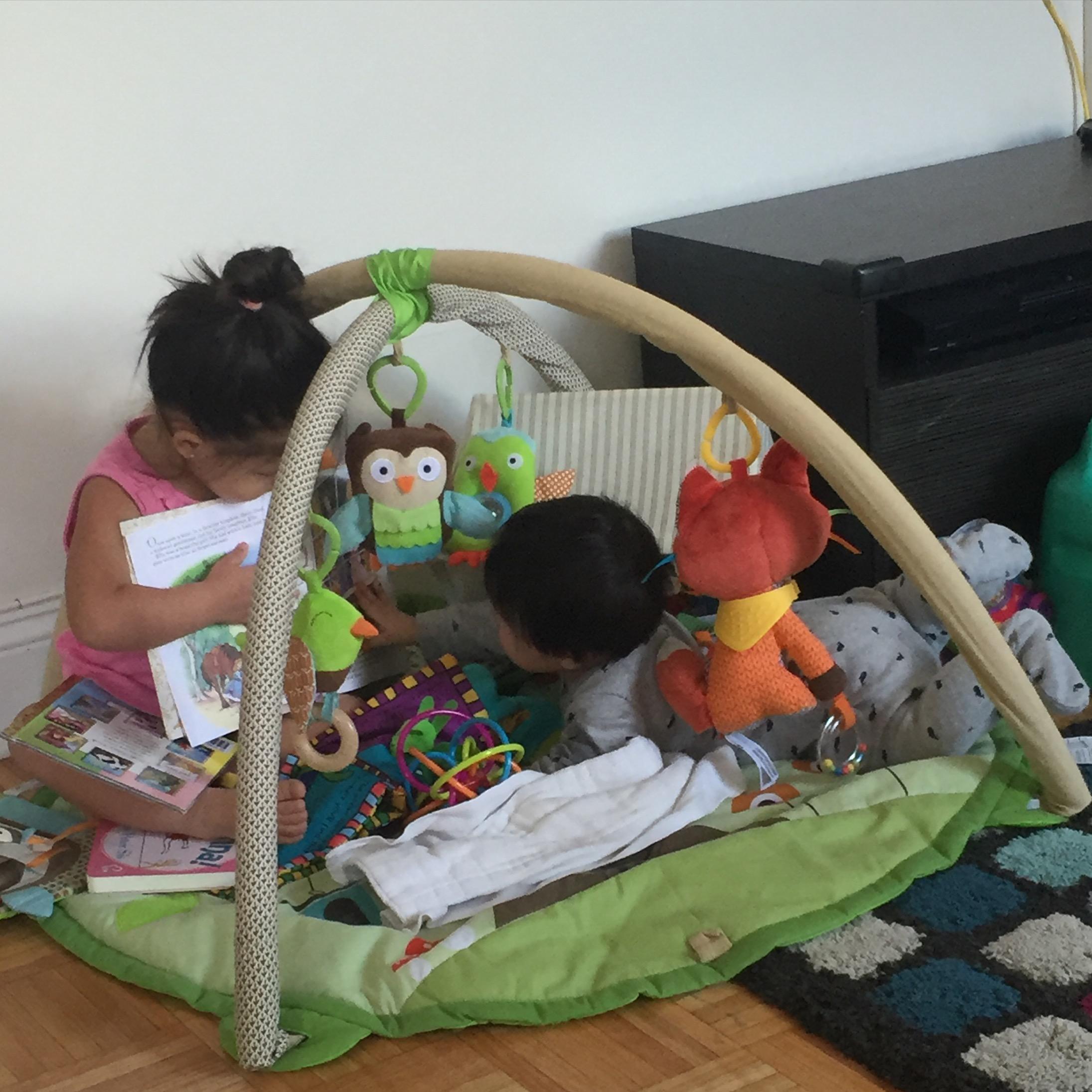 Reading to Fynn