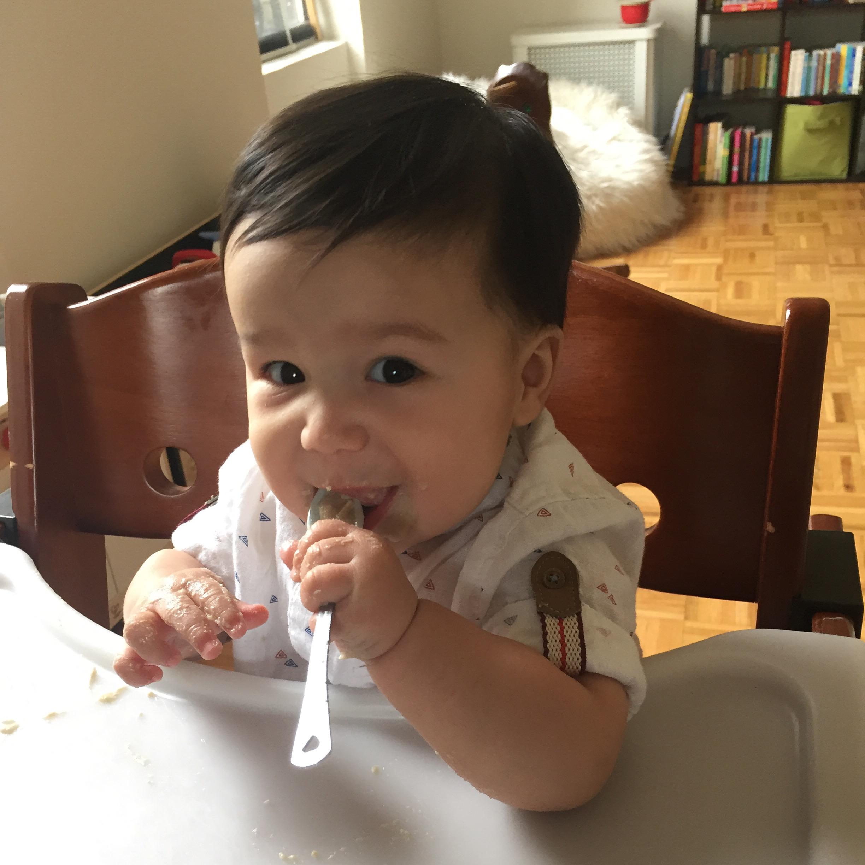 Loves Oatmeal!