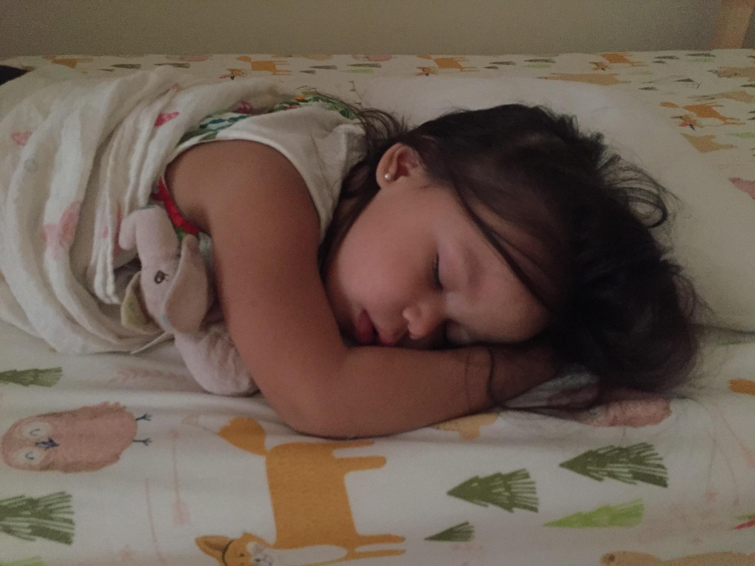 So sweet when she sleeps!