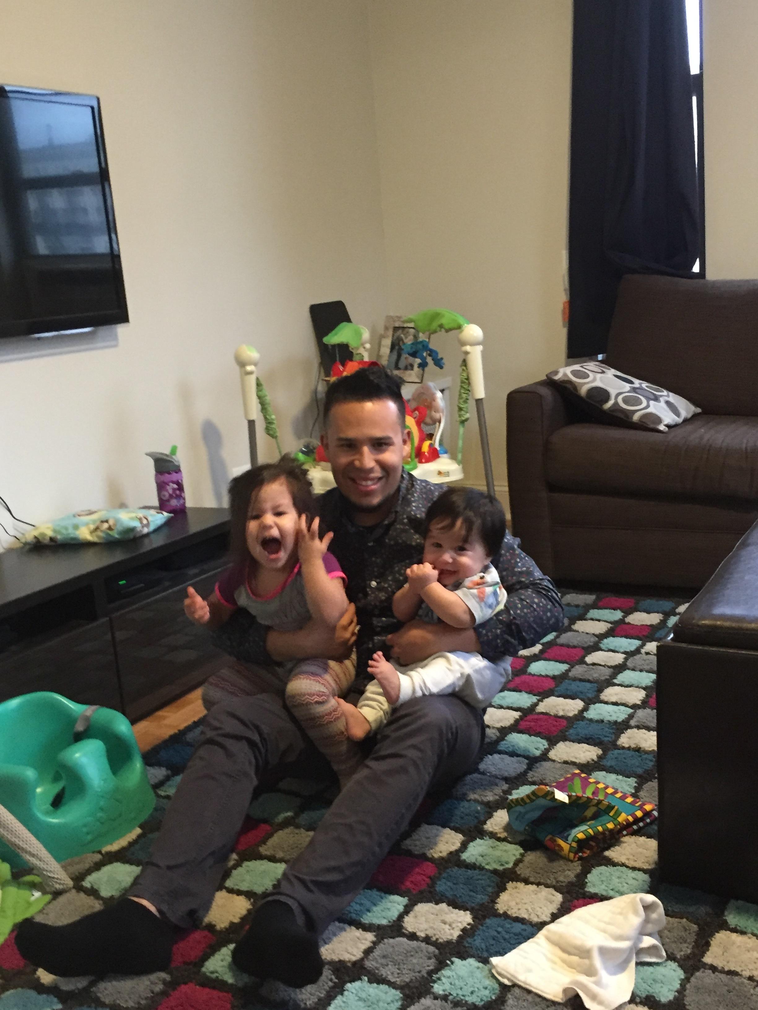 Happy Papi is home!