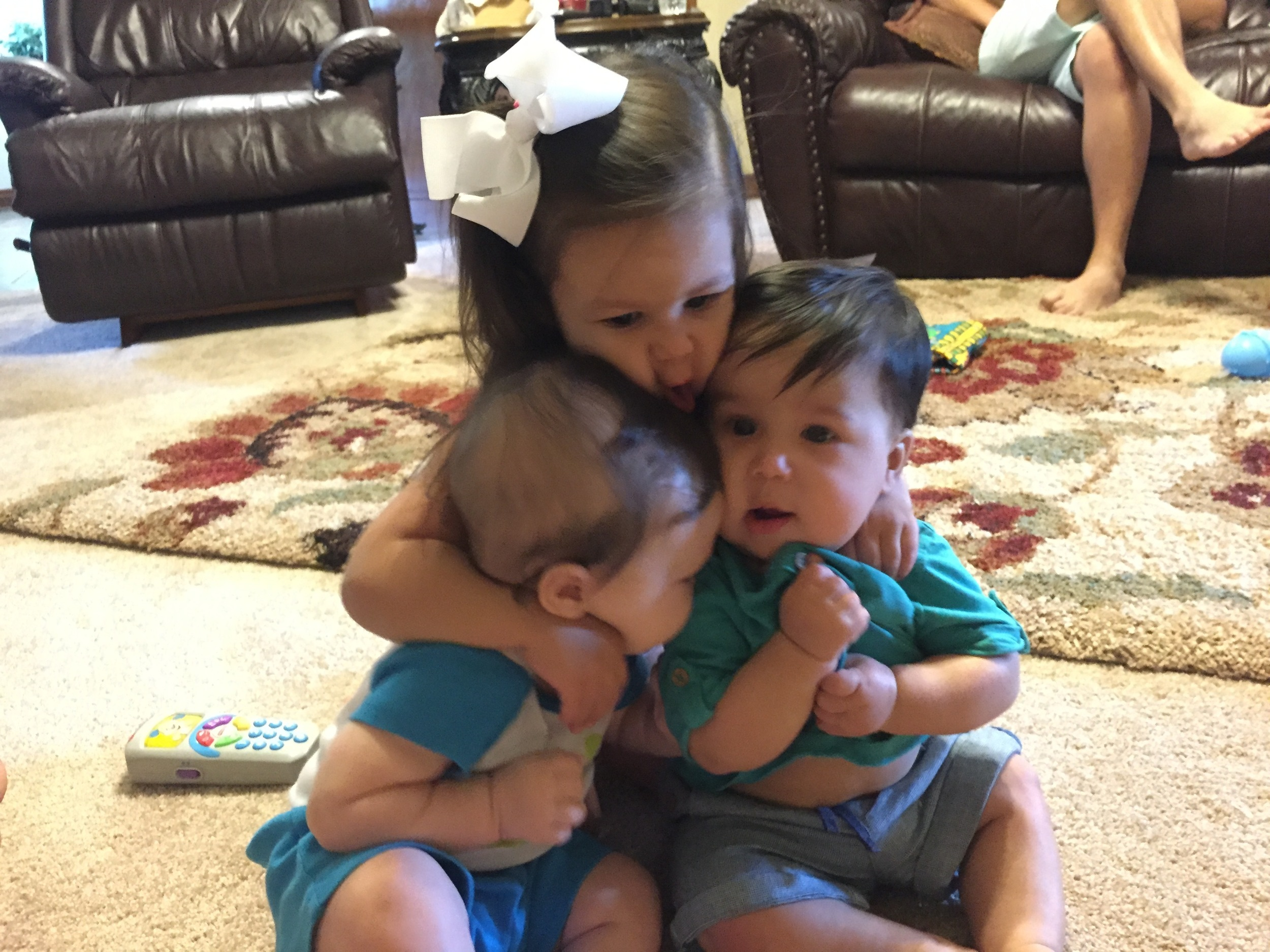 loving the babies a little too much ;)