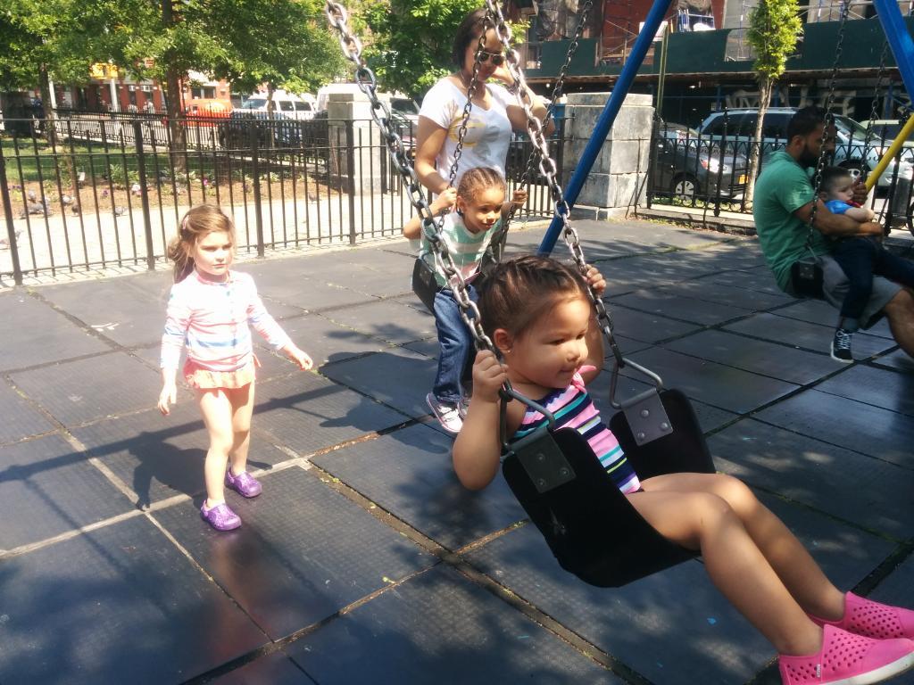 big girl swing!