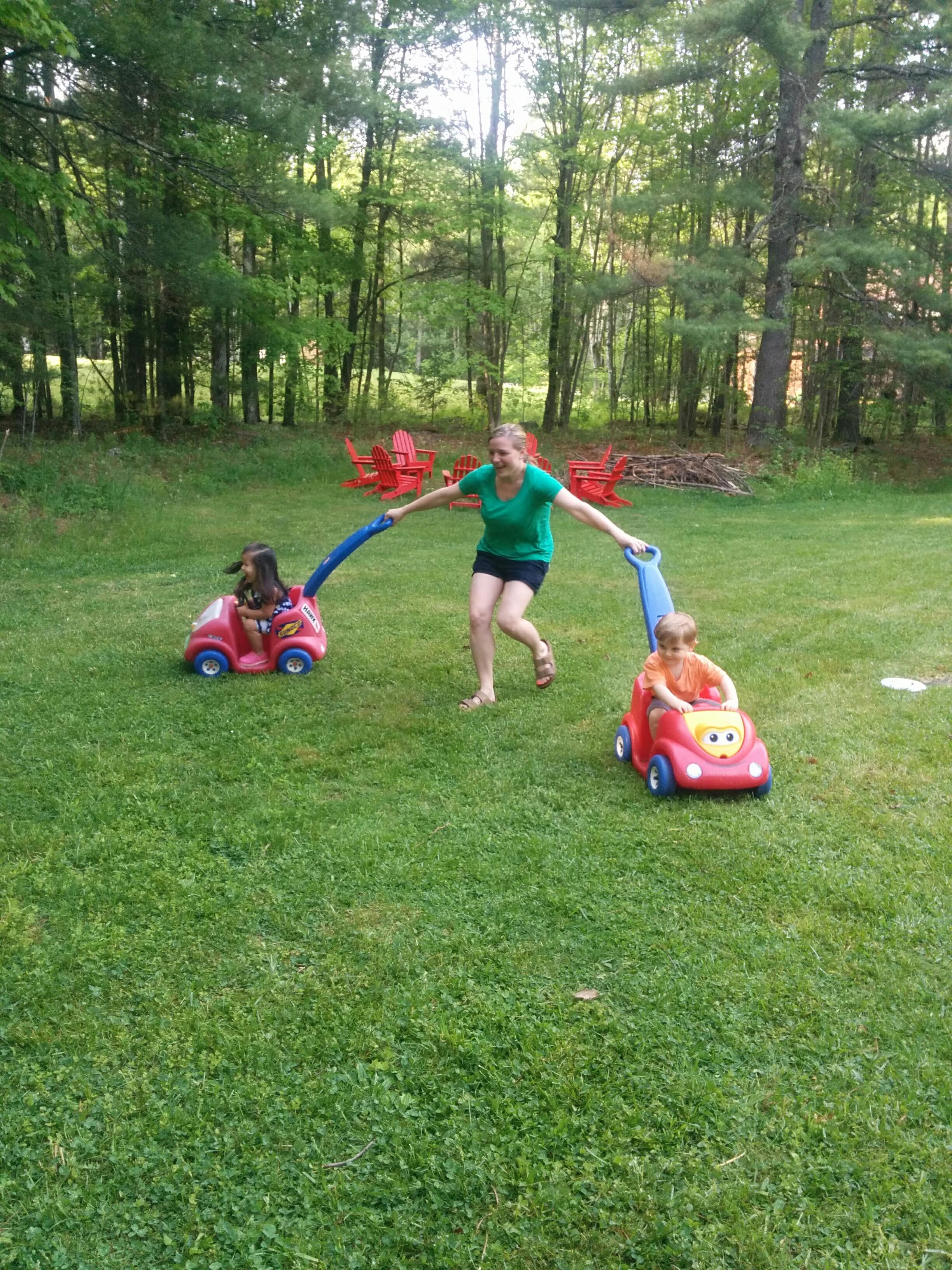 Runaway toddlers!