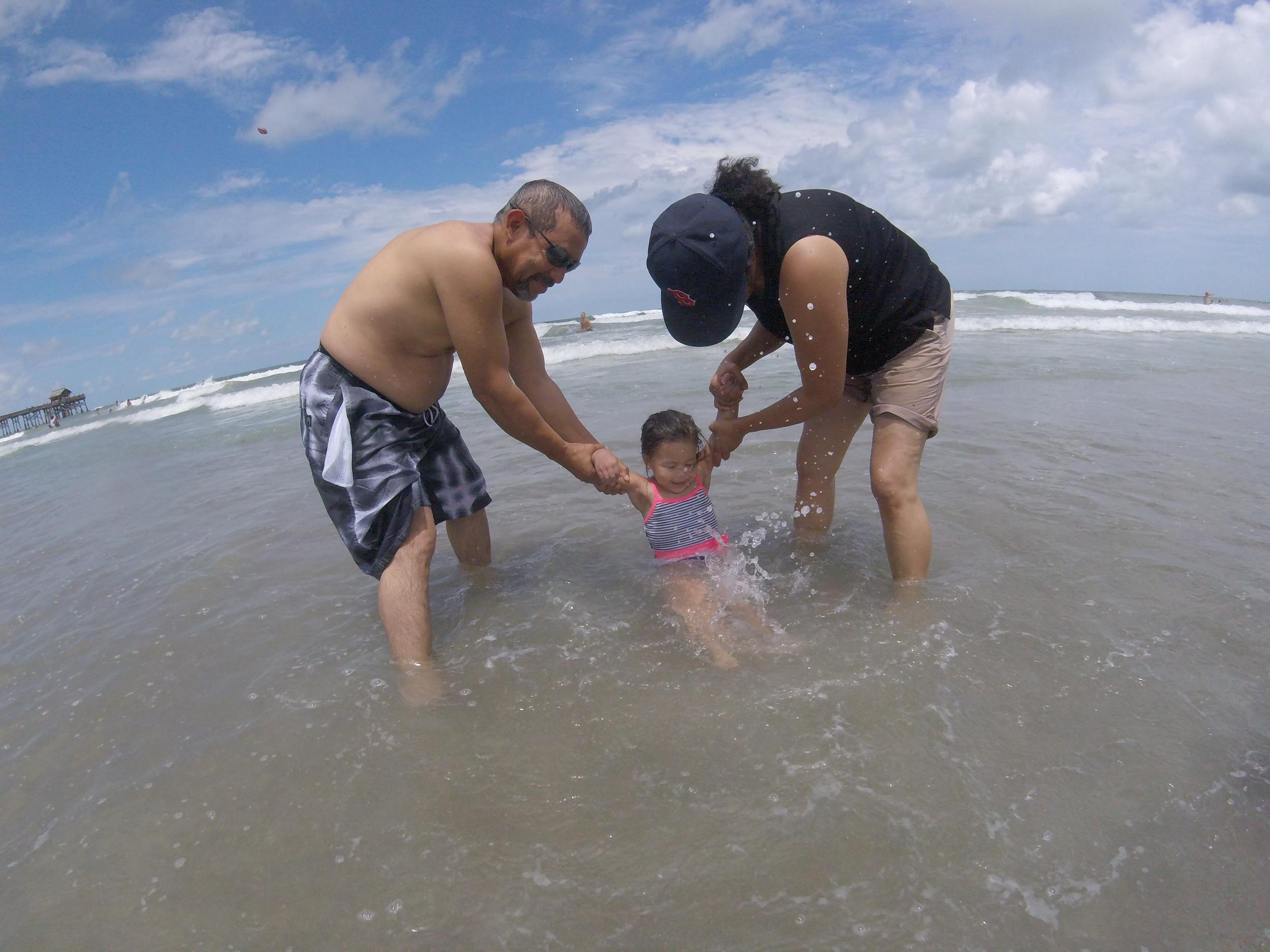 Cocoa Beach with Lito & Lita