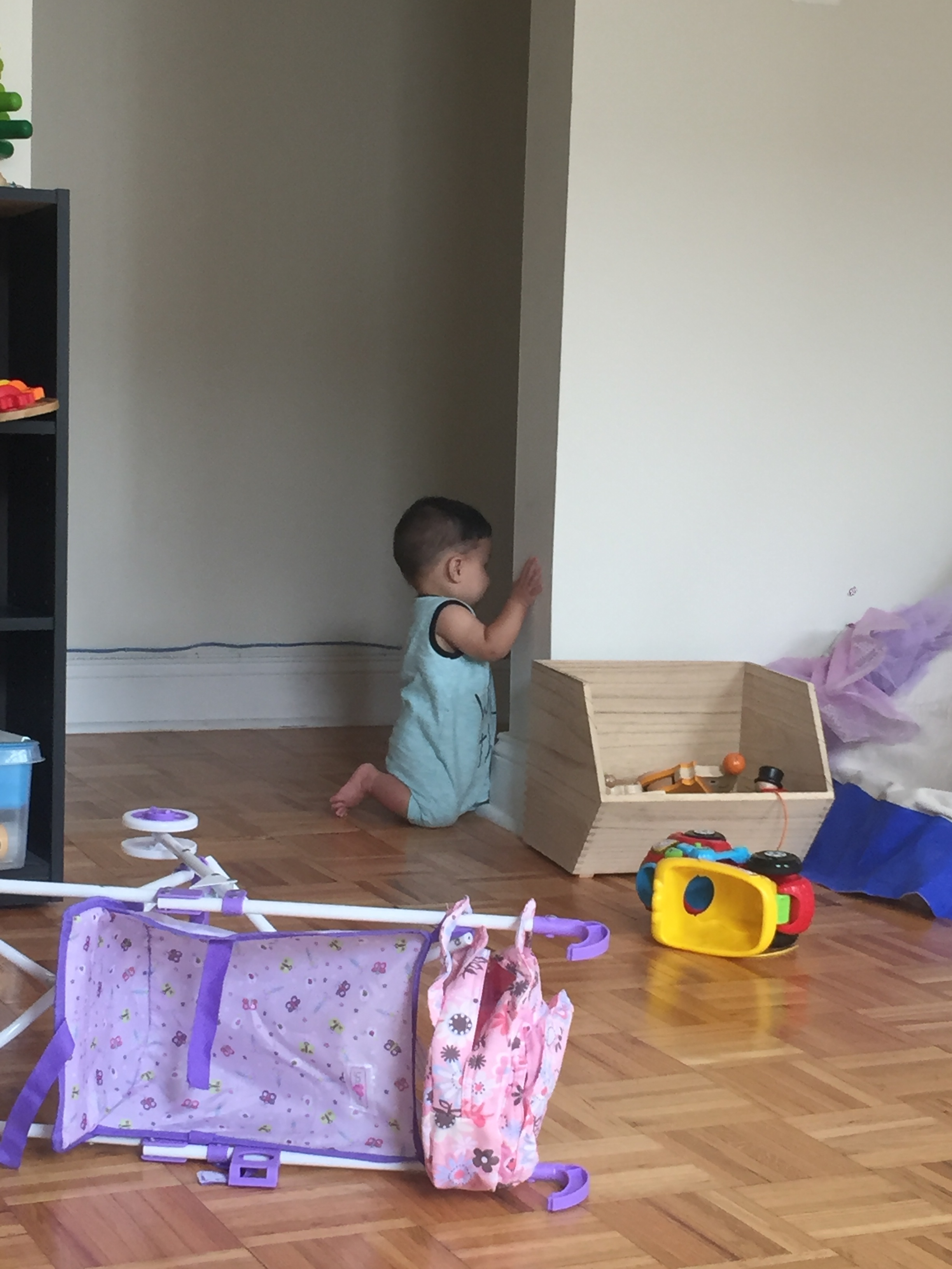 checking on Aly in timeout