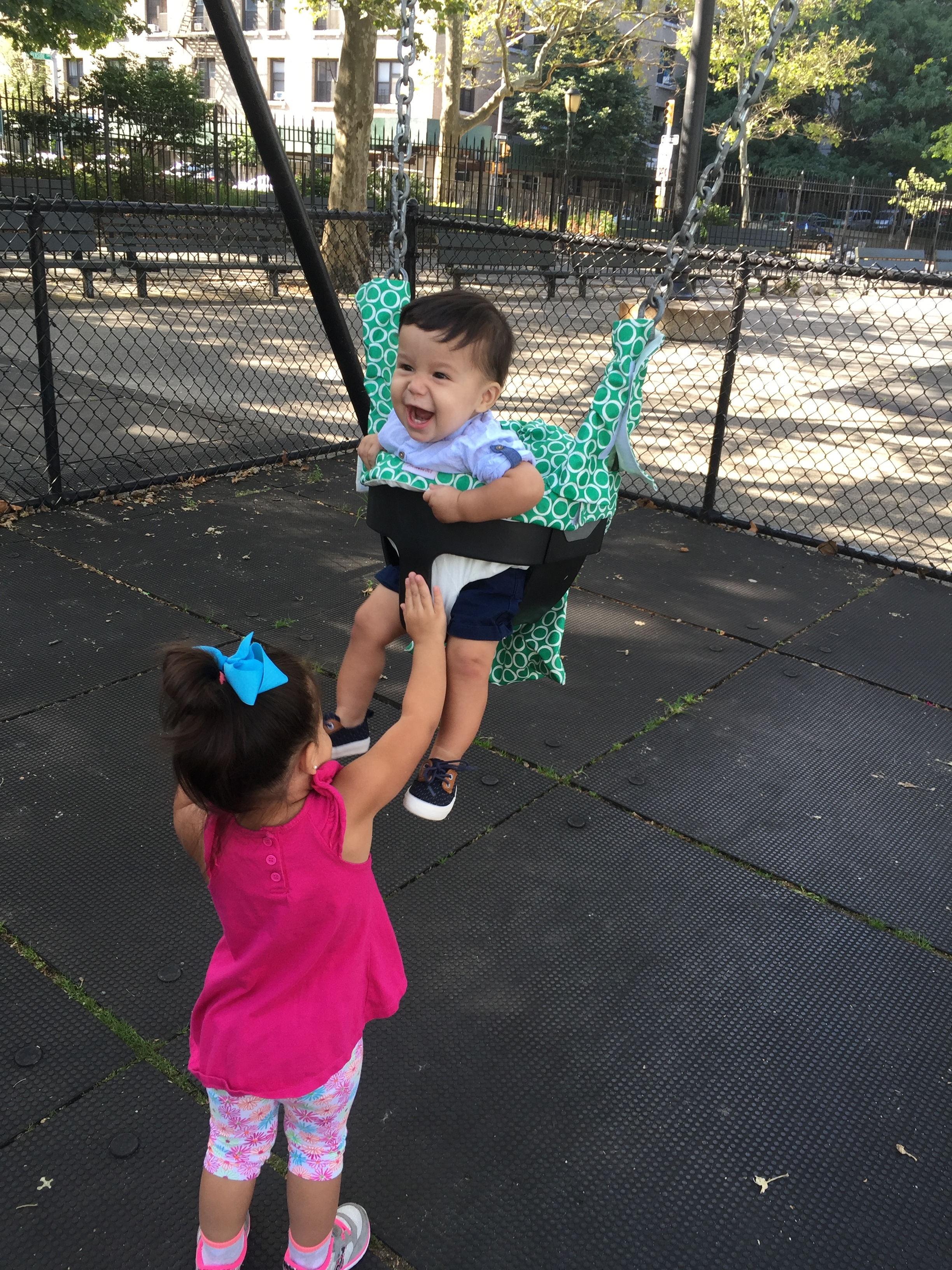 Swinging with Aly!