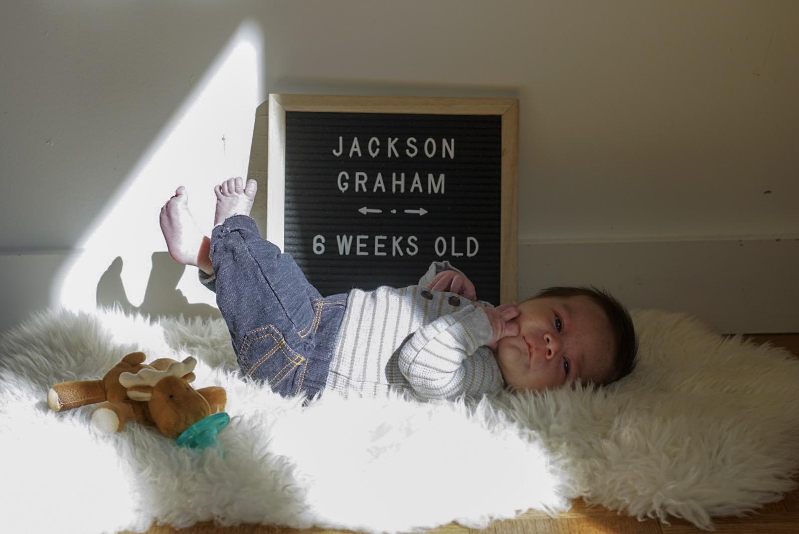 6 weeks old!