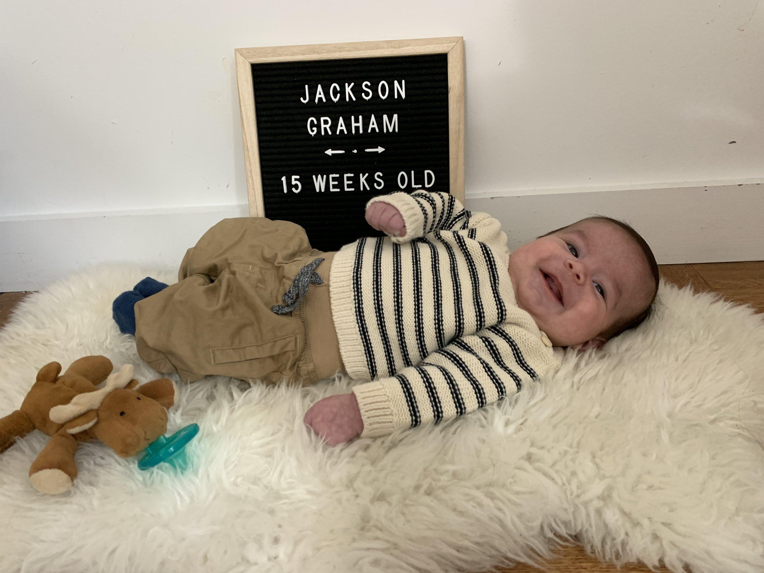 15 weeks old!