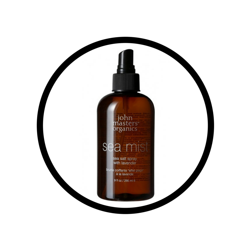 John Masters sea spray: for the 5 minute morning best head cure.