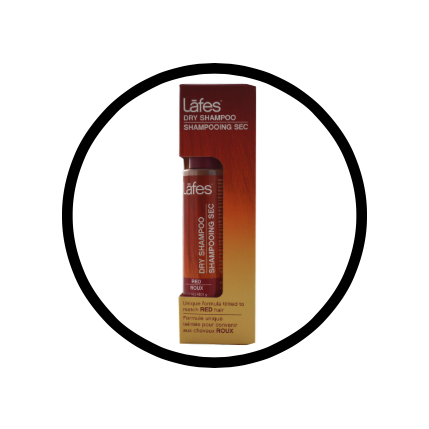 Lafes dry shampoo: for showers that begin and end too quickly.