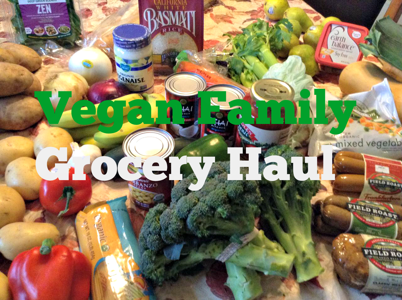 Small Grocery Haul & Recipes (VIDEO) — Brown Vegan