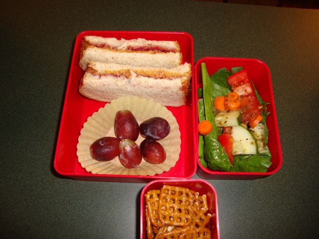This is a pic of my youngest son, Brandon's lunch from when he was about 6