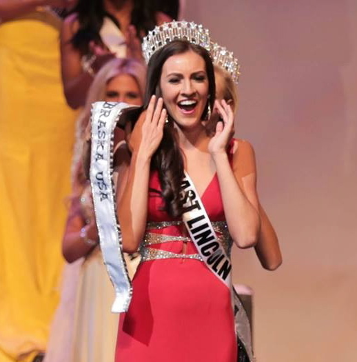 All of her hard work paid off and Amanda was crowned Miss Nebraska 2014.