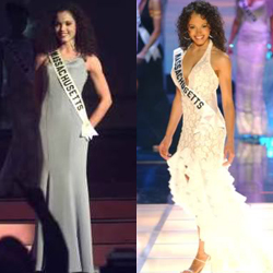 Evening gown competition at Miss Teen USA 1998 & Miss USA 2003. Both were Sherri Hill dresses!