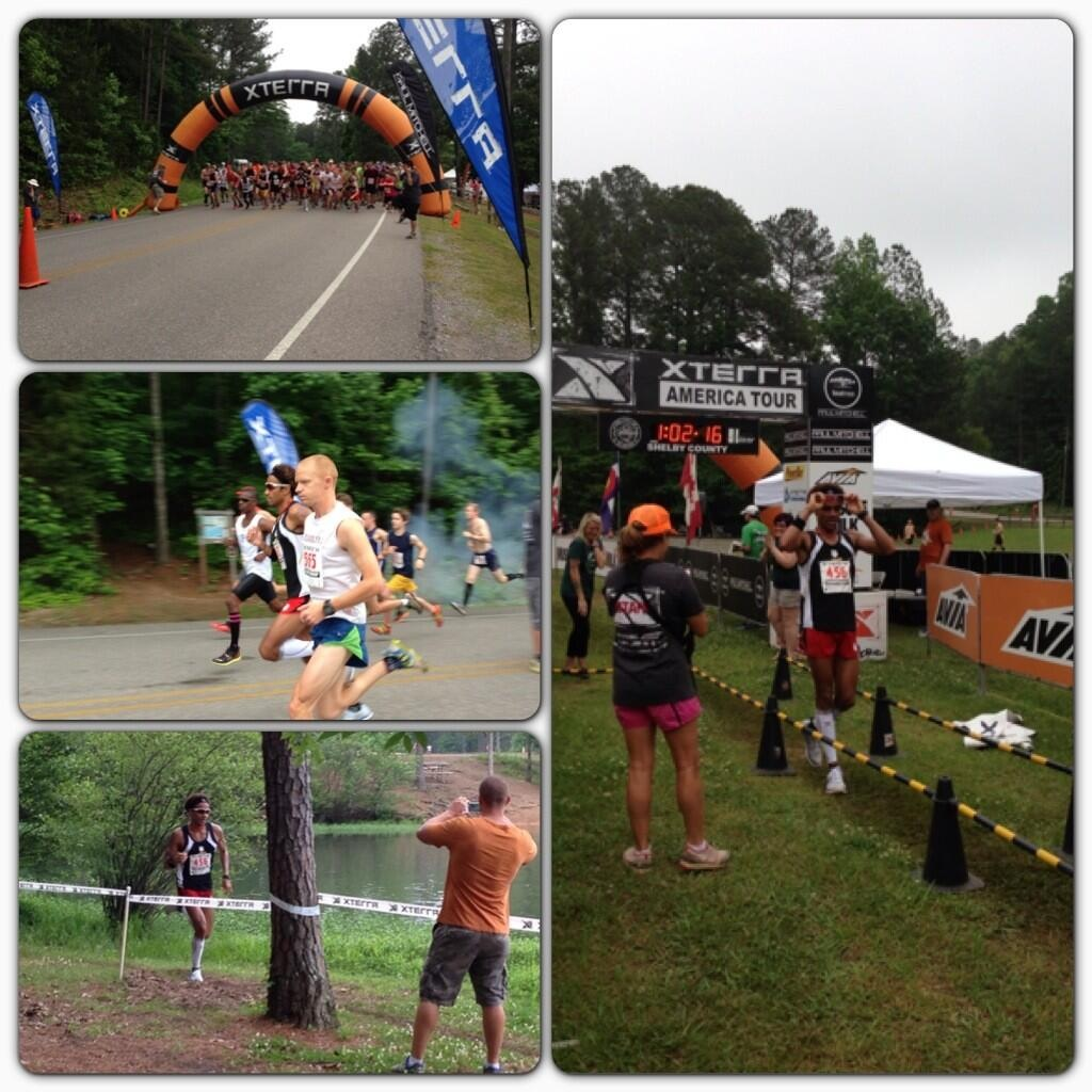 Start --> Finish, a race in pictures....