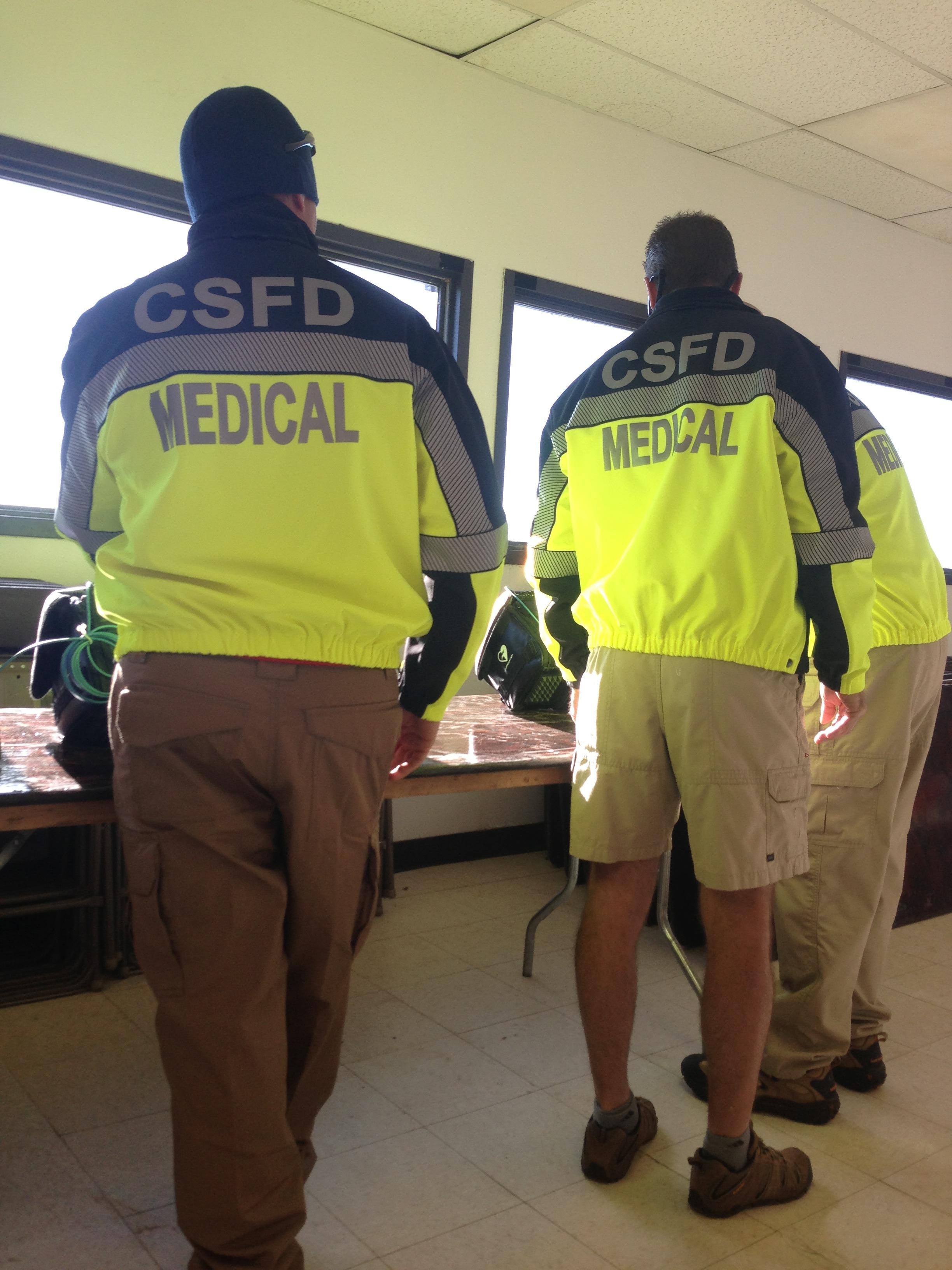 Medical Staff...safety 1st!