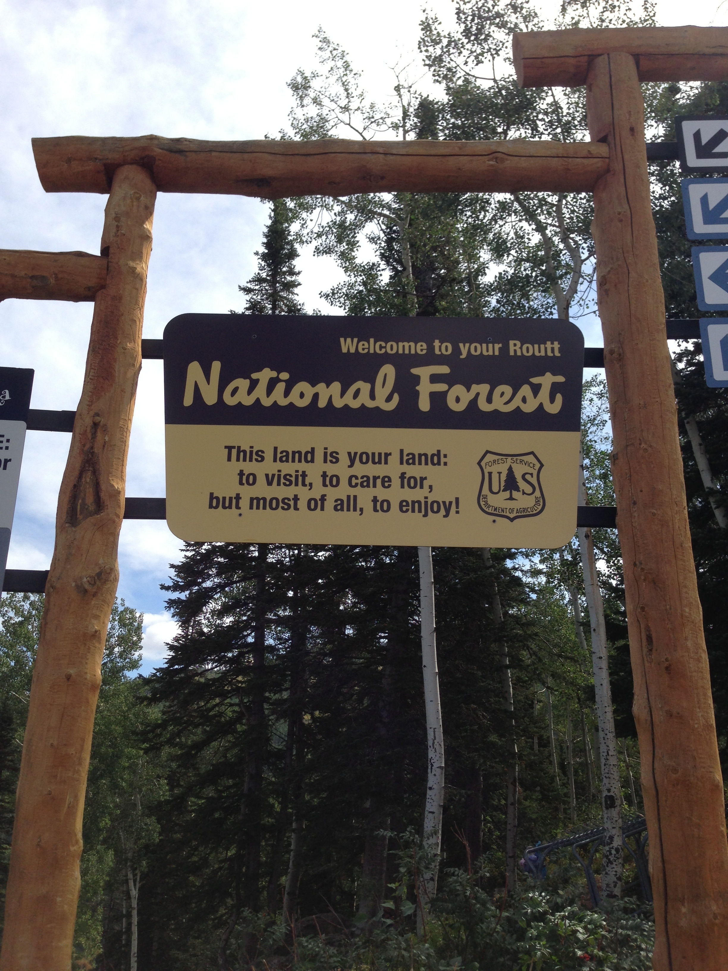 Routt National Forest - Race Site