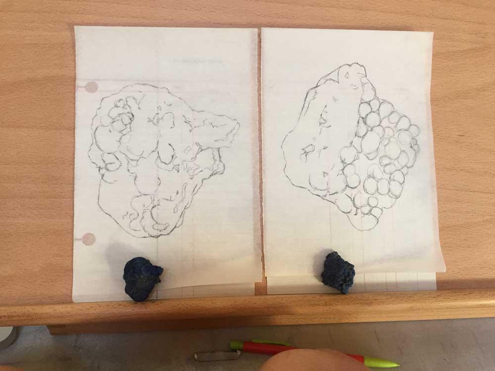 One - Make a rough outline sketch