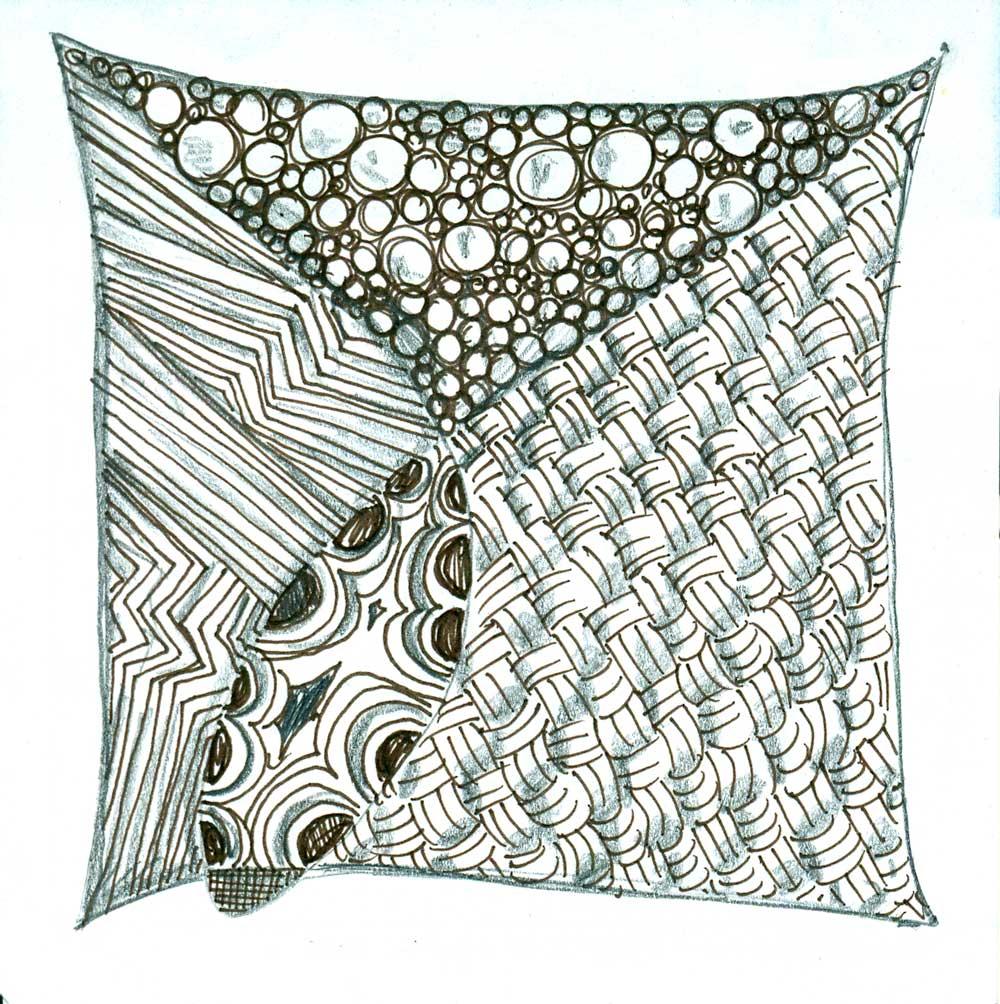 My little zentangle sketch