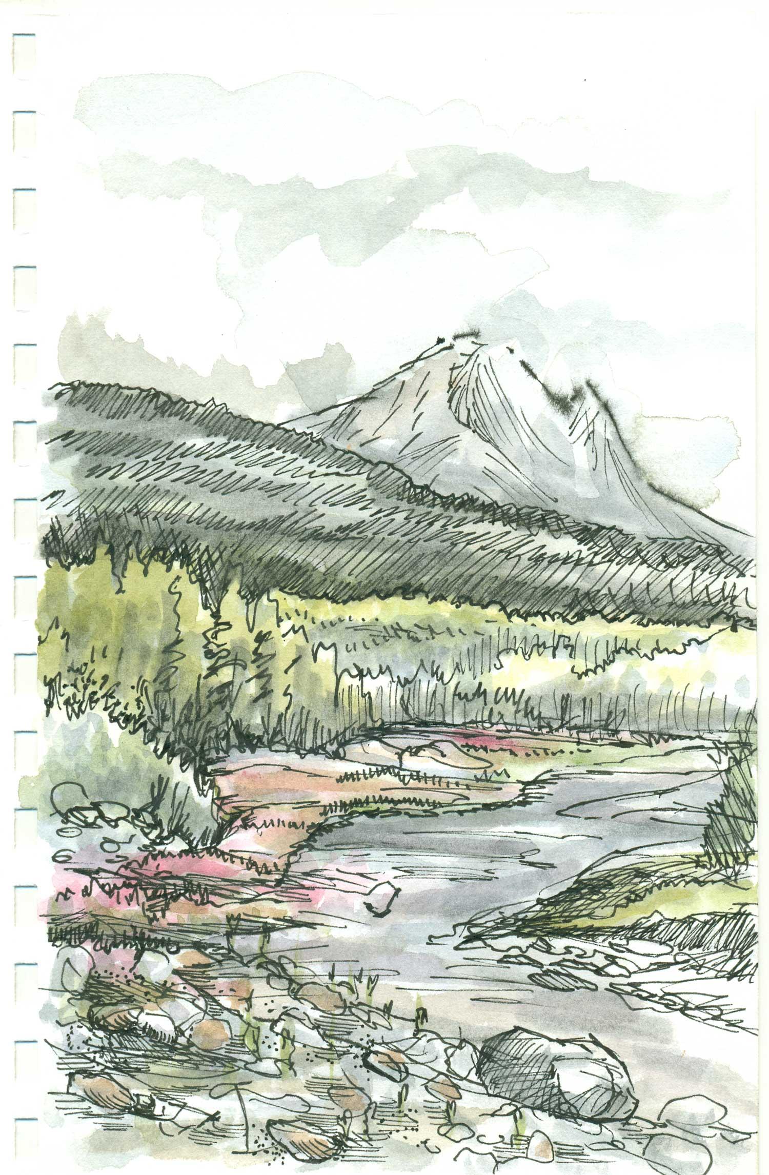 Sourdough and McCarthy Creek