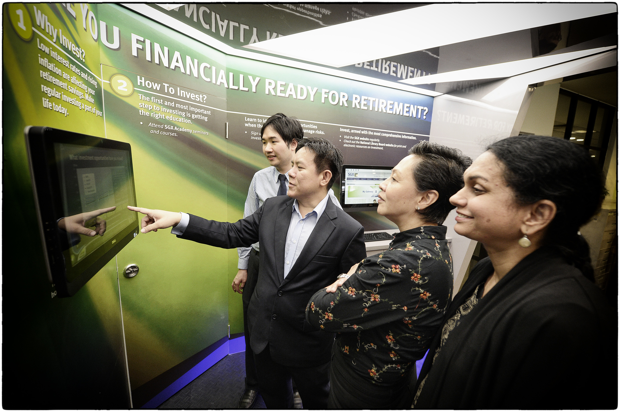 SGX-NLB MOU Signing Ceremony and Launch of SGX Investment Knowledge Gateway