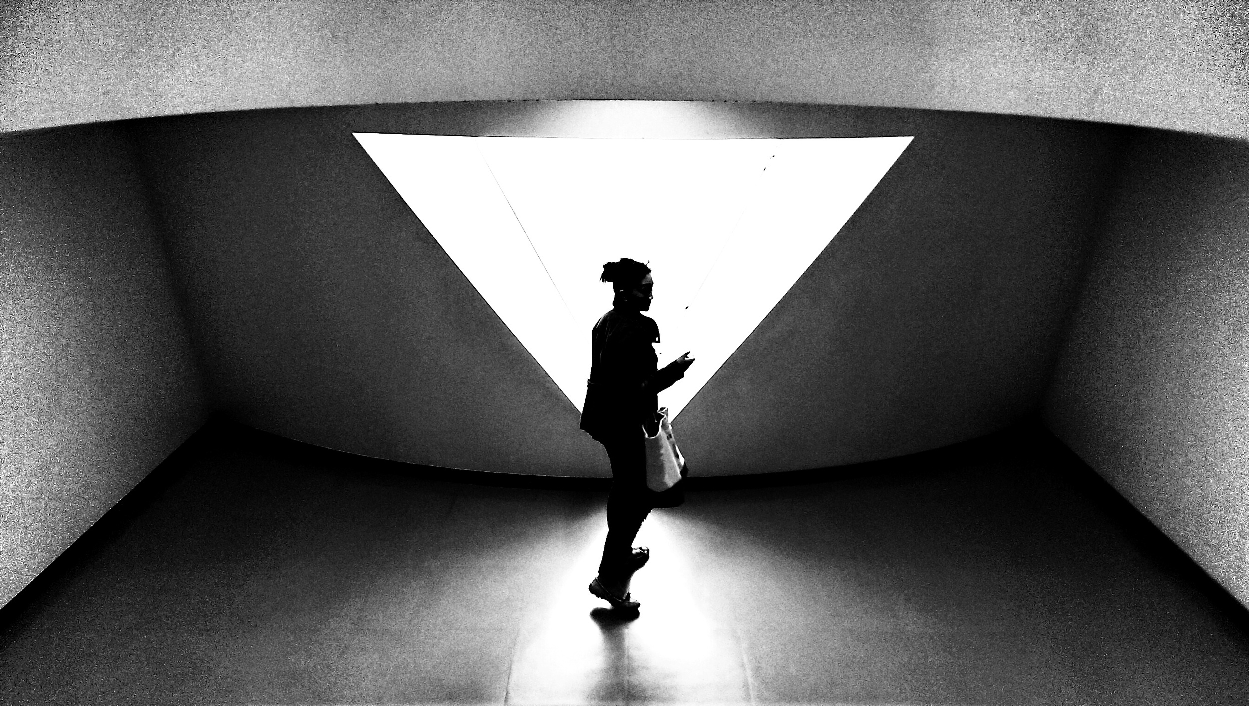 At the Museum Of Contemporary Art in Hiroshima.