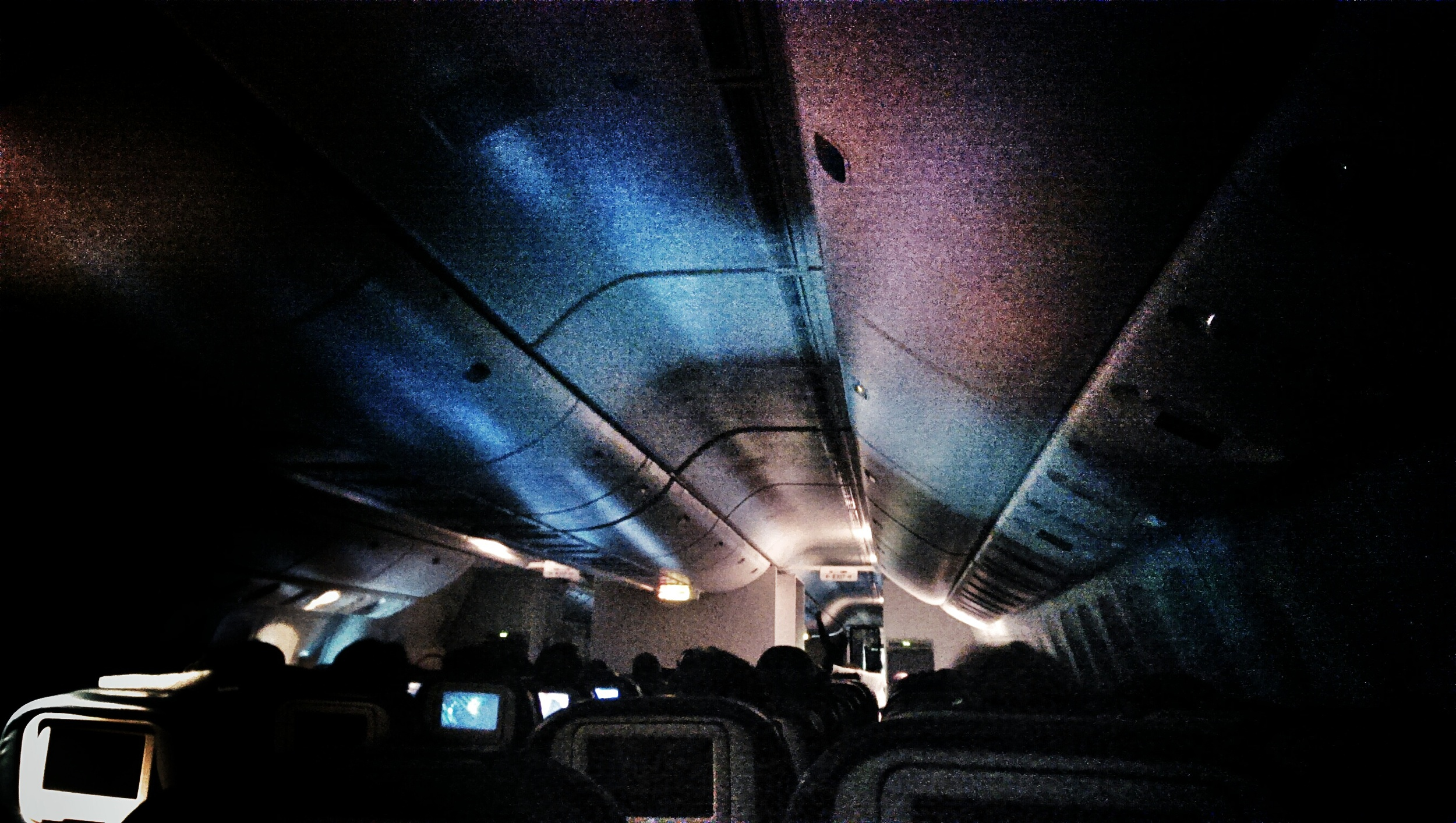 The flight home.