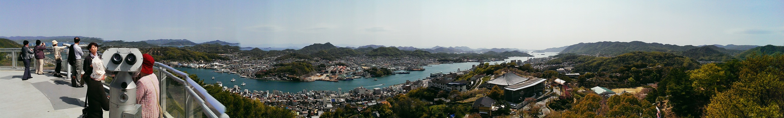 The view from Mt Senkouji in Onomachi.