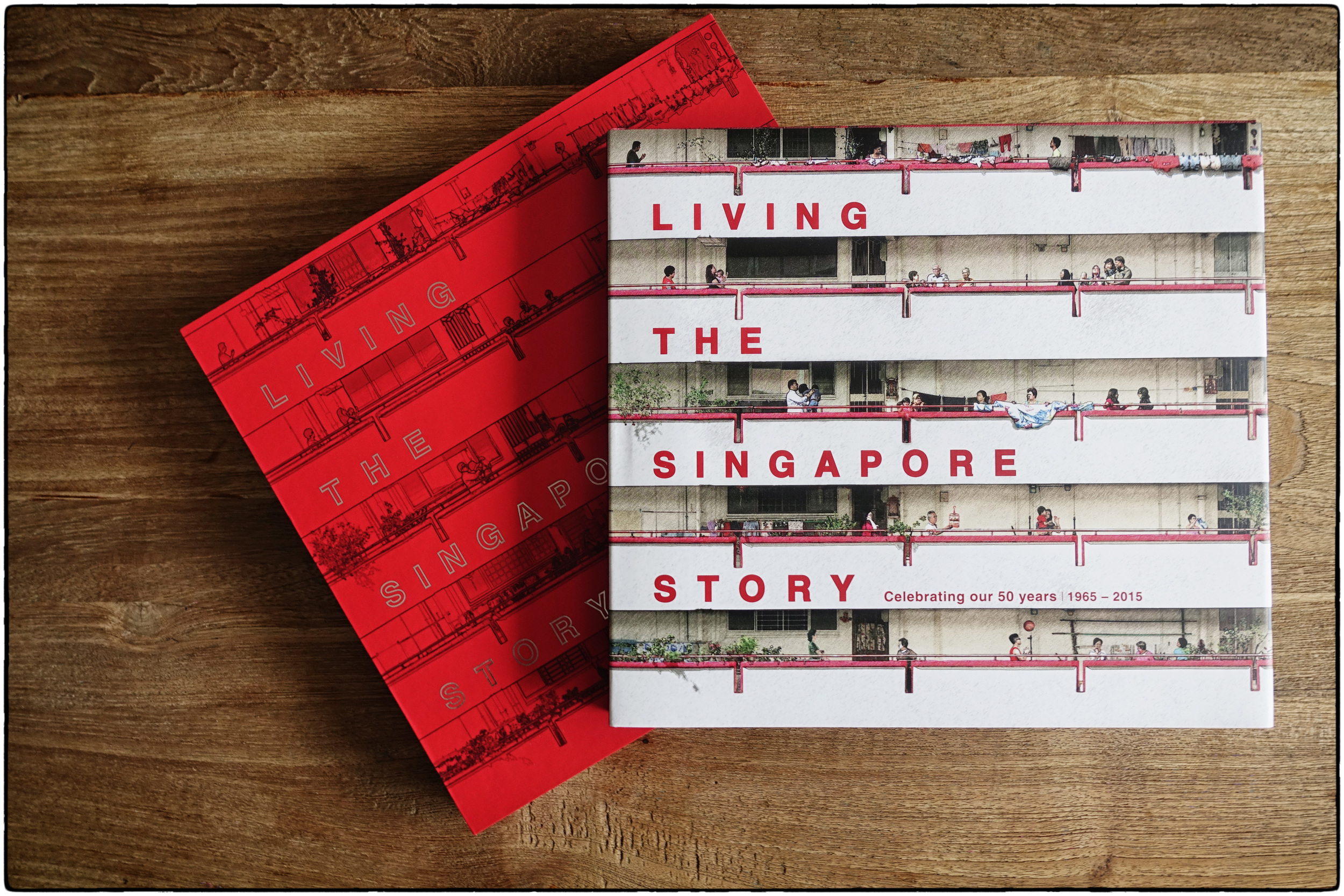 The official SG50 book, Living the Singapore Story: Celebrating our 50 years 1965-2015, celebrates five decades of nation building through 58 compelling and heart-warming accounts of Singaporeans.