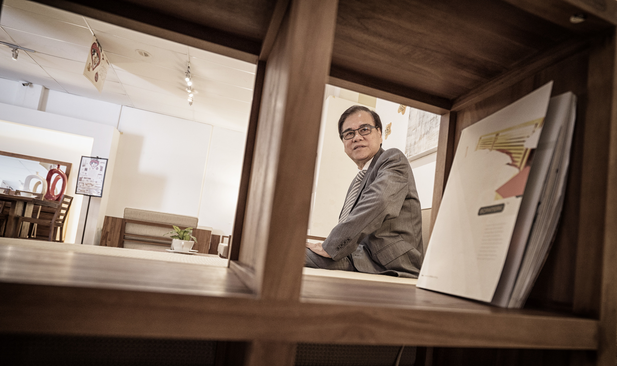 Lim Pok Chin, owner of household name Scanteak, went bust twice in the furniture business but now owns 100 stores in Taiwan.