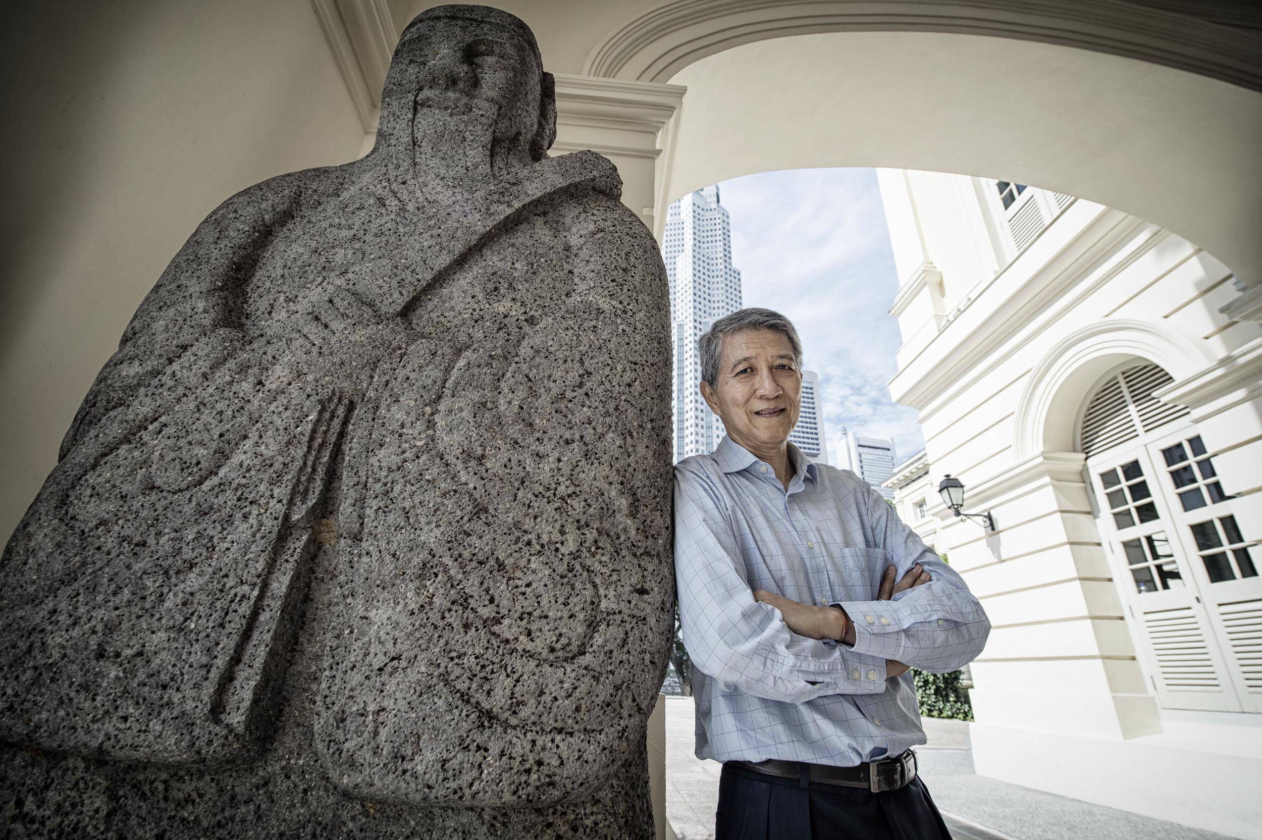 Kenson Kwok, founding director of the Asian Civilisations Museum and the Peranakan Museum.