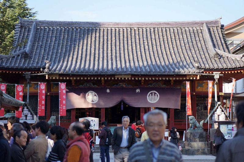 Sensō-ji Temple, Asakusa, Tokyo.