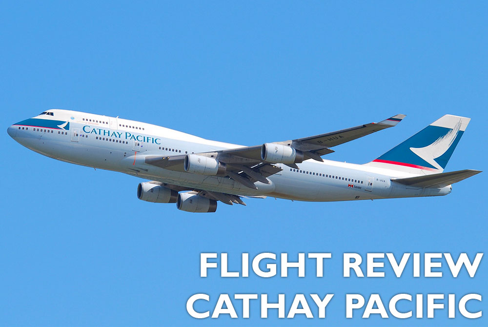 Flight Review - Cathay Pacific