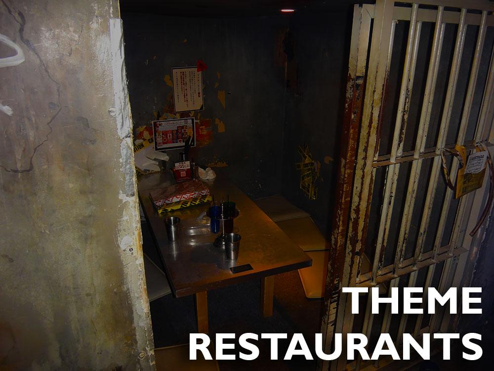 Japlanning 101 - Theme Restaurants
