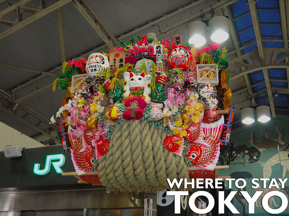 Japlanning - Where to Stay in Tokyo