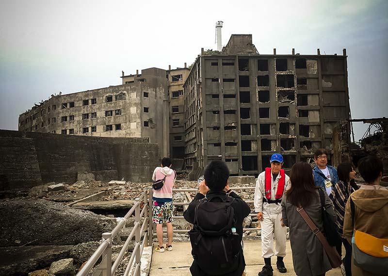 part of gunkanjima tour