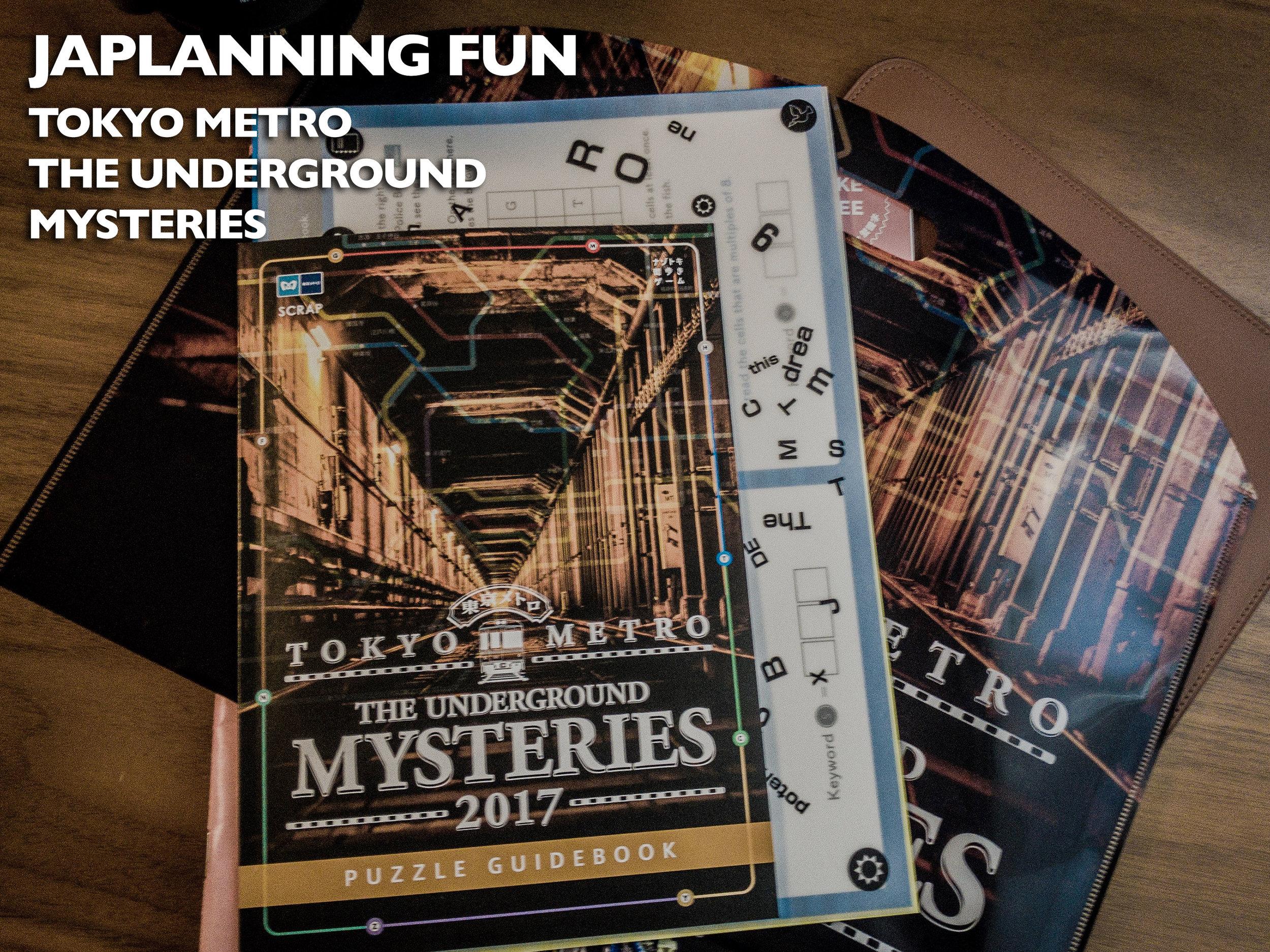 Tokyo Metro - The Underground Mysteries