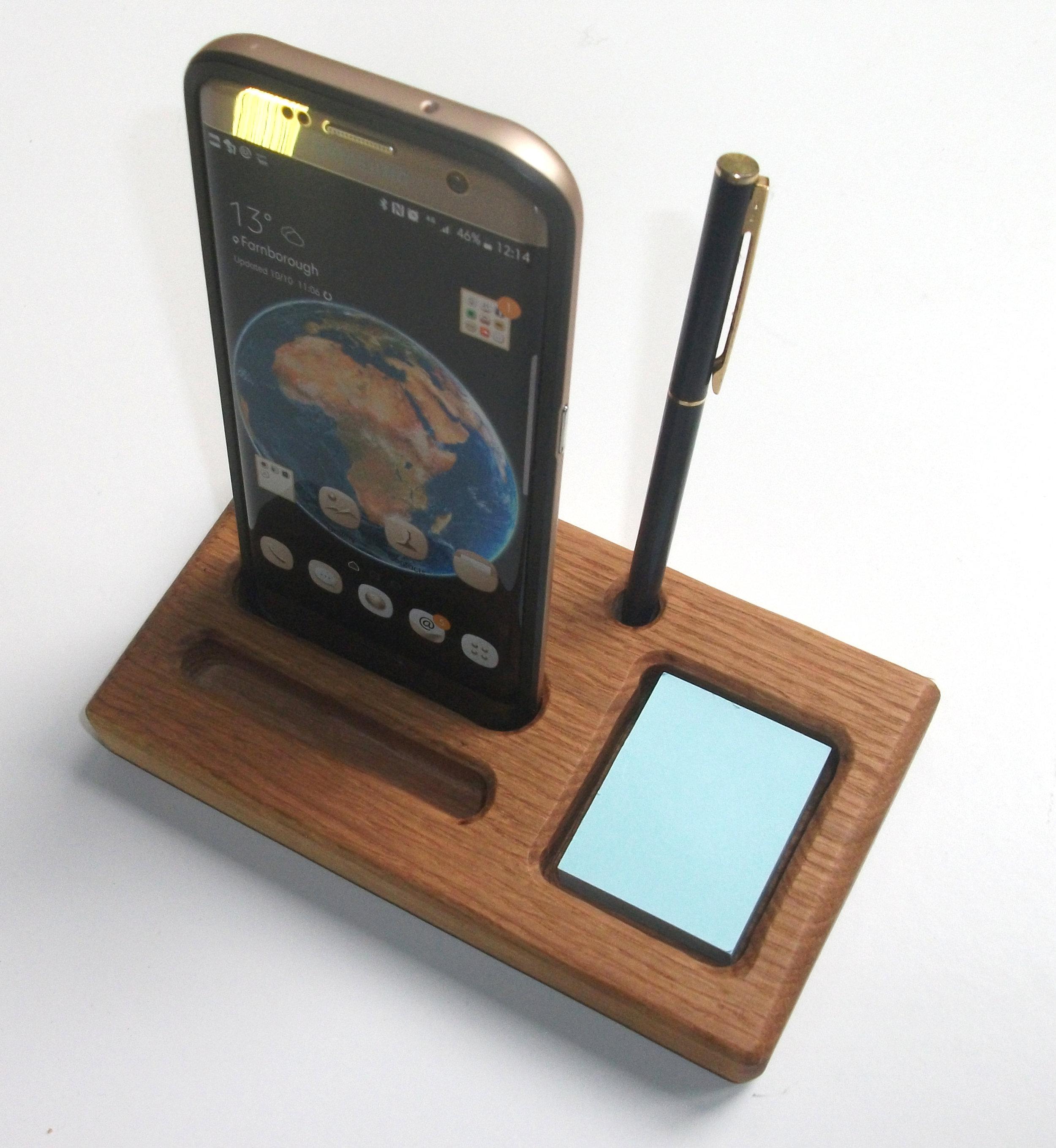 Oak Phone Stand