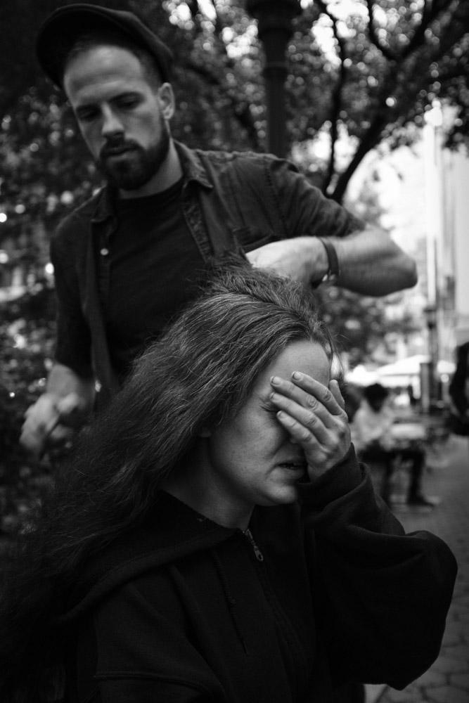 Melissa ~ #DoSomethingForNothing NYC ©Valérie Jardin